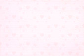 Soft pastel lighter pink colour horizontal background stock photo with a border of small elements like swirls, confetti, stars, wrapped present boxes.  copy space. No people. No text. Apt for party, parties, romantic wedding anniversary, Xmas, Christmas, New Year's eve, New Year, birthday celebration backdrop, wallpaper,  romantic gift wrapping paper, poster, greeting cards, greetings card for Valentine Valentine's Day.