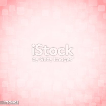 Soft pastel pink and white colour shining glittery square background stock photo. Looks like twinkling lights light shiny sky background. Vignette, vignetting, copy space. No people. No text. Apt for party, Xmas, Christmas, New Year's eve, New Year, birthday party celebration backdrop, wallpaper,  romantic gift wrapping paper, greeting cards. There are subtle light coloured rounded corners squares of different sizes and overlapping making it blingy and shimmery. Divine, spiritual background. Sparkles here band there all over.Copy space. Vignette, vignetting