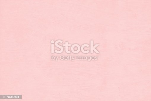 istock Soft pale pink or peach coloured blank empty grunge and textured effect vector backgrounds 1270063941