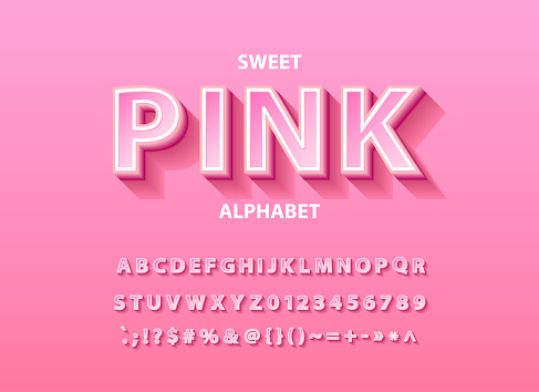 Soft Pink font