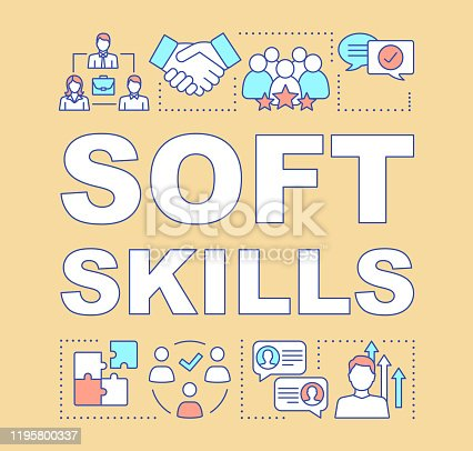 istock Soft skills word concepts banner 1195800337