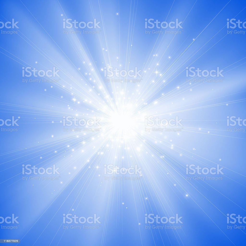 soft sunbeam royalty-free stock vector art