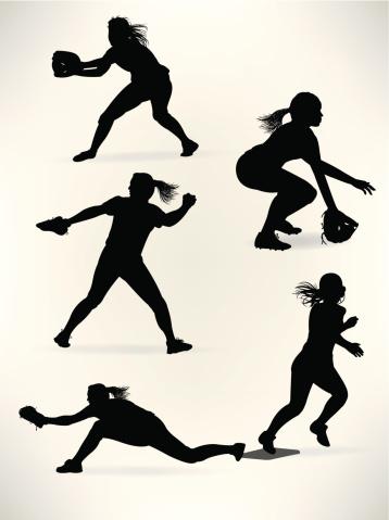 Softball Players - Girl Athletes, All-Stars