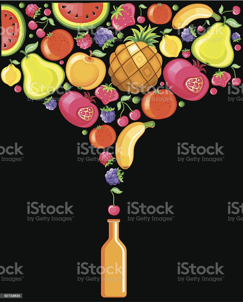 Soft-drink royalty-free stock vector art