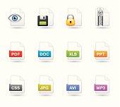 Softico Icons - File type