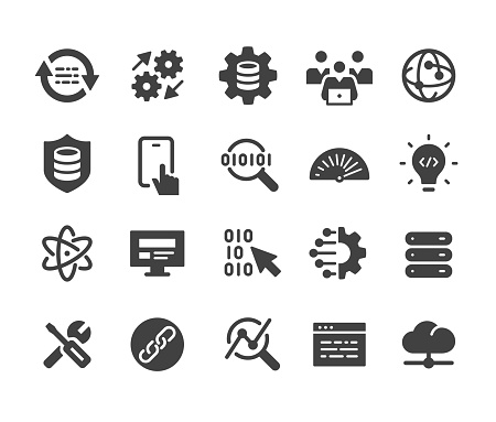 Software and Technology Icons - Classic Series