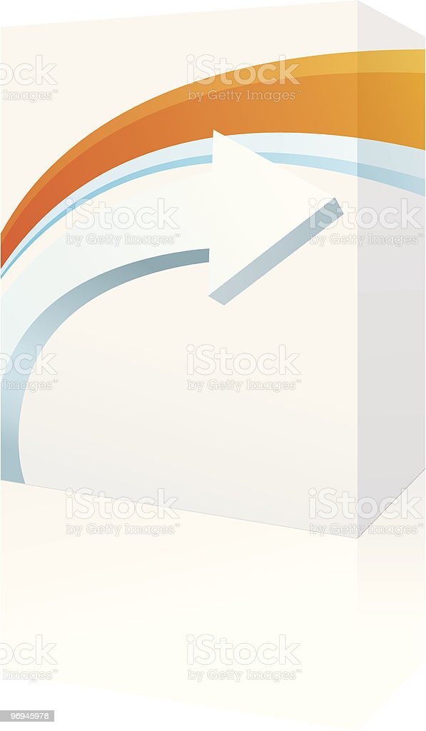 software box royalty-free software box stock vector art & more images of arrow - bow and arrow