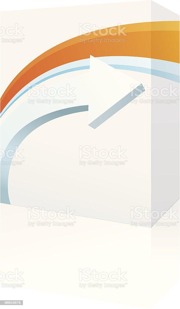 software box royalty-free stock vector art