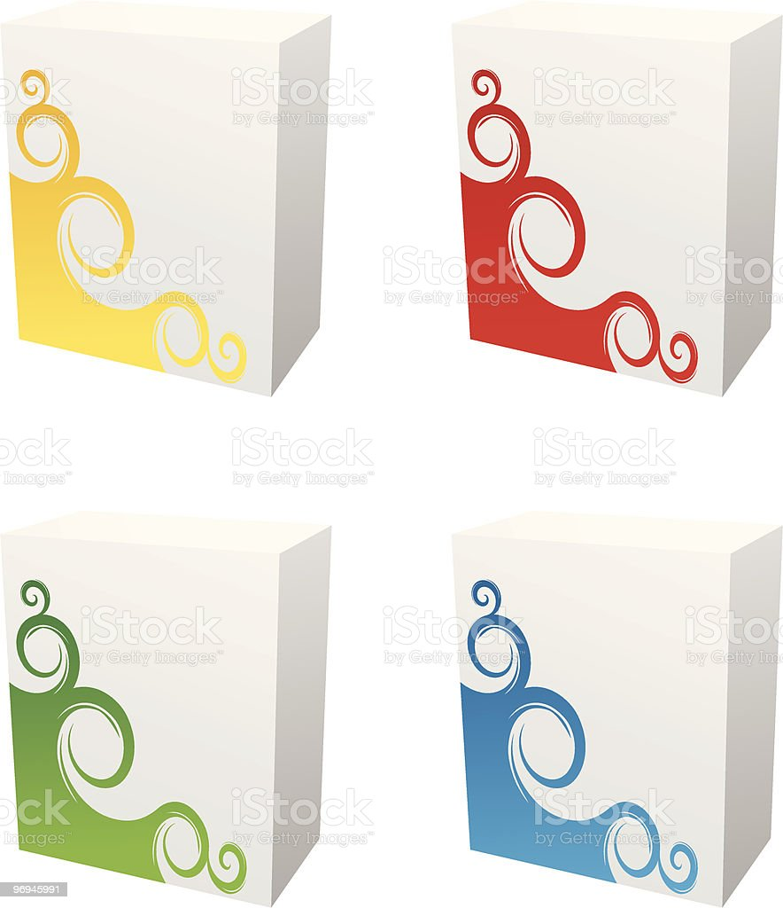 software boxes royalty-free software boxes stock vector art & more images of blank