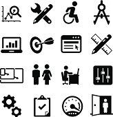 Software Design Icons - Black Series
