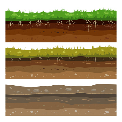 Soil Ground Layers Seamless Campo Ground Dirt Clay Surface ...