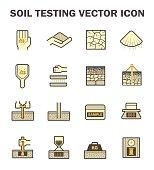 Soil test icon