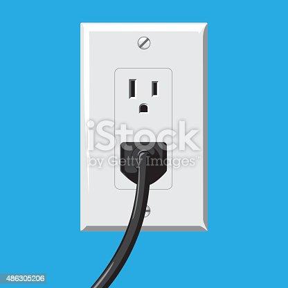 istock Soket and Plug 486305206