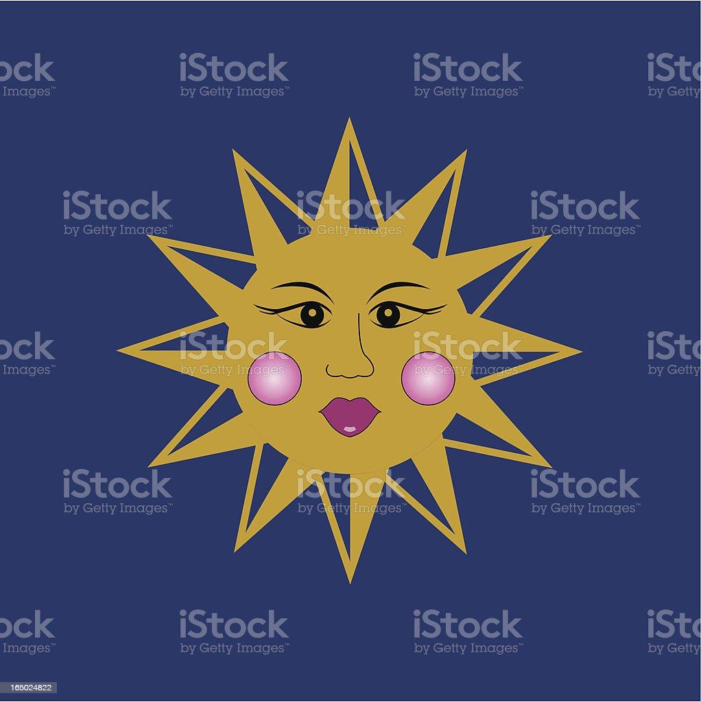 Sol - Vector Sun (Hi Res jpeg included) royalty-free stock vector art