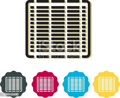 istock Solar Cells - Icon 1093445490