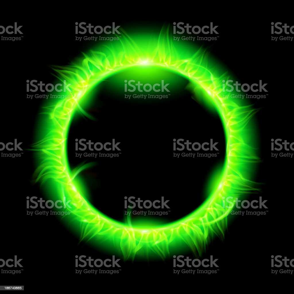 Solar Corona With Green Beam Stock Vector Art & More Images