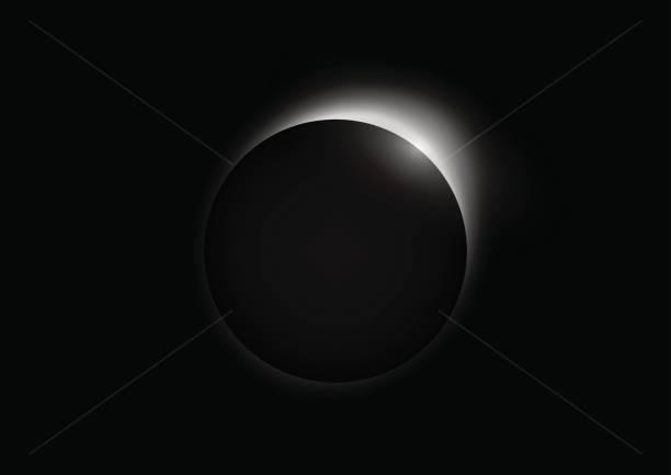 Solar eclipse Solar eclipse corona sun stock illustrations