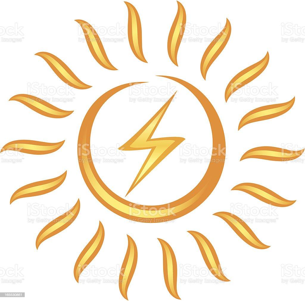 Simbolo Di Energia Solare - Immagini vettoriali stock e ...