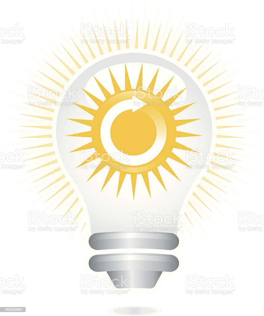 Solar Energy royalty-free stock vector art