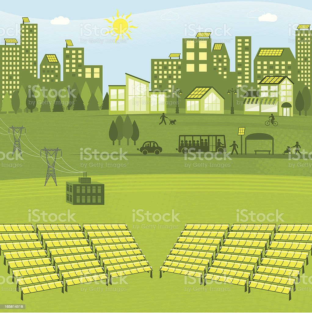 Solar Energy royalty-free solar energy stock vector art & more images of adult