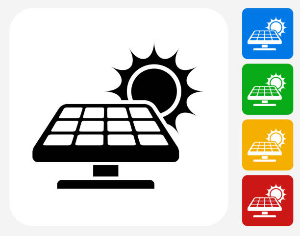 Royalty Free Solar Panel Clip Art Vector Images