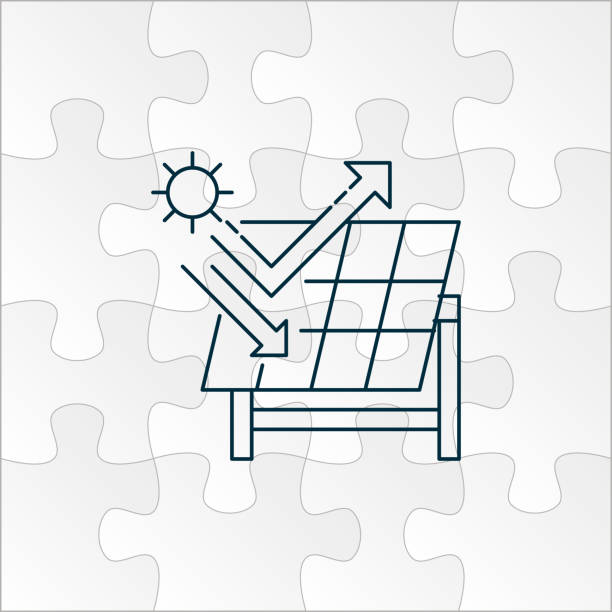 Best Solar Panel India Illustrations, Royalty-Free Vector