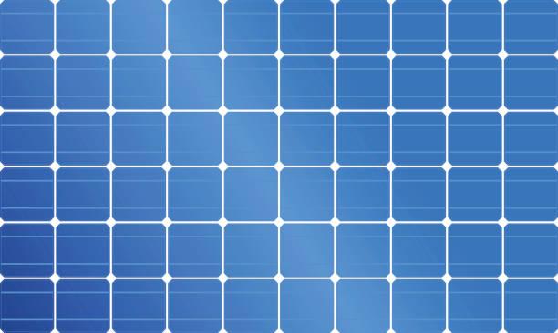 solar-panel, solarenergie, solar-zelle - solaranlage stock-grafiken, -clipart, -cartoons und -symbole