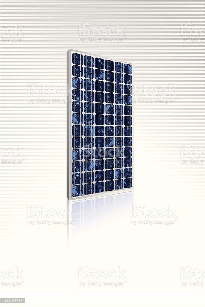 Solar panel royalty-free stock vector art