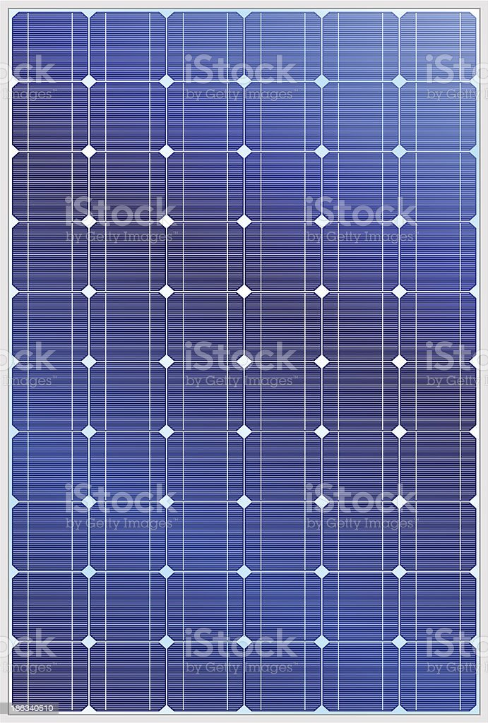 Solar panel royalty-free stock vector art