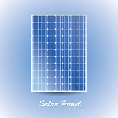 Solar cell panel, clean energy.