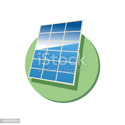 This is an illustration of solar panel