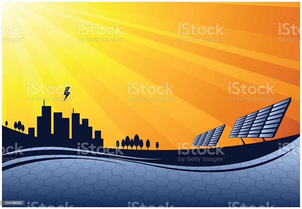 solar power royalty-free solar power stock vector art & more images of abstract