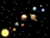 istock Solar System 8 Bit Arcade Video Game Pixel Art 1305493080