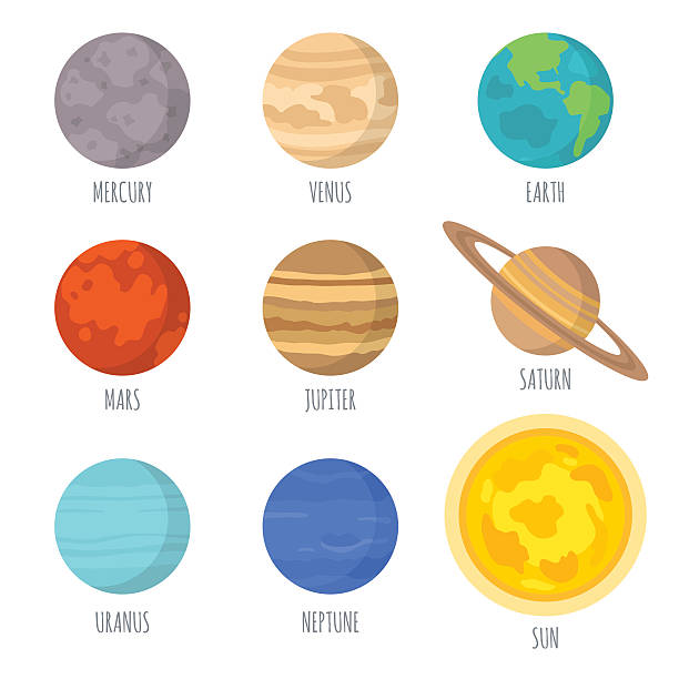 the 9 planets clip art - photo #11