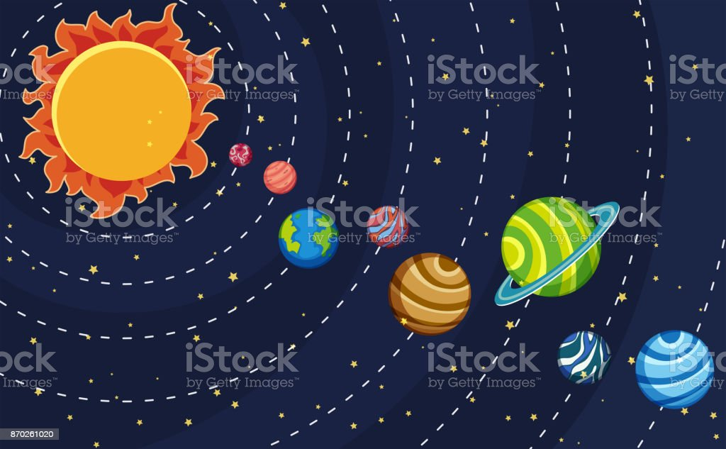 royalty free solar system clipart pictures clip art vector images rh istockphoto com solar system clipart black and white solar system clip art black and white