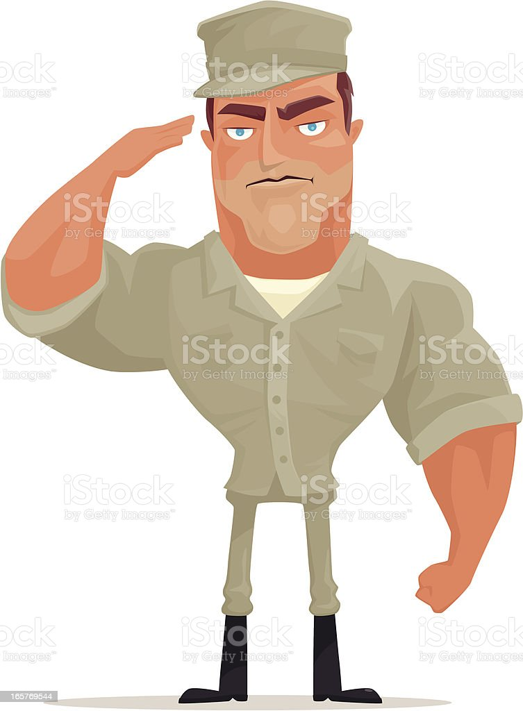 soldier saluting royalty-free soldier saluting stock vector art & more images of adult