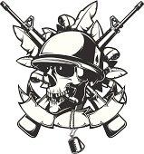 soldier skull