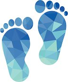 sole of the foot icon
