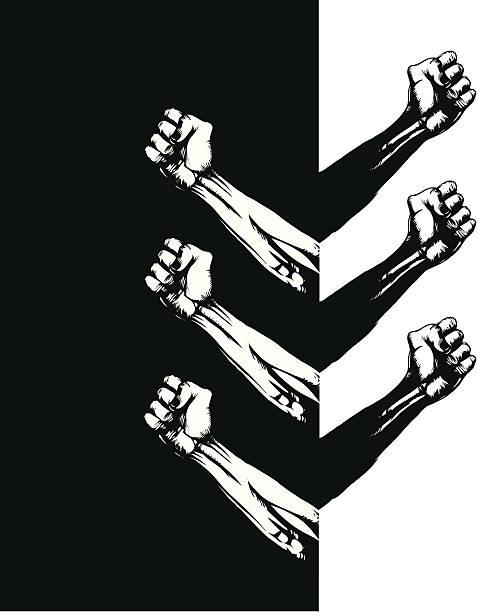 Solidarity vector art illustration