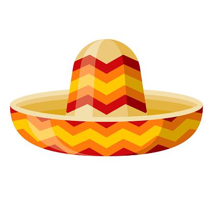 Sombrero Icon on Transparent Background