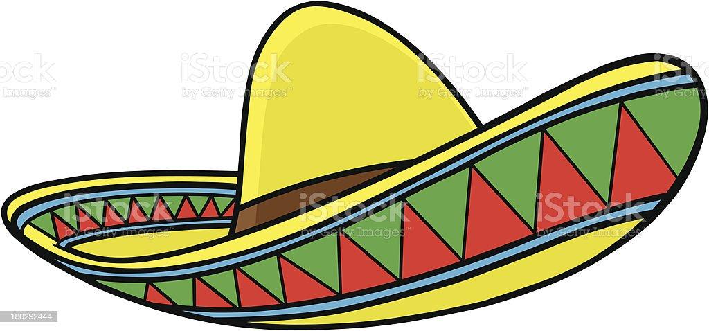 royalty free sombrero clip art vector images illustrations istock rh istockphoto com clipart sombrero mexicano sombrero clipart