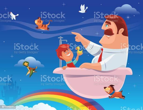 Son and father sitting in bathtub vector id971440560?b=1&k=6&m=971440560&s=612x612&h=1artvb54covldj15oamzaltab8lzmquy9ynk1w1zxou=