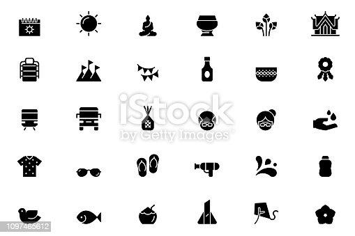 Songkran Icons