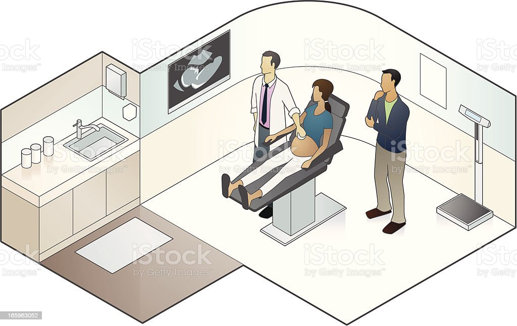 Sonogram Illustration vector art illustration