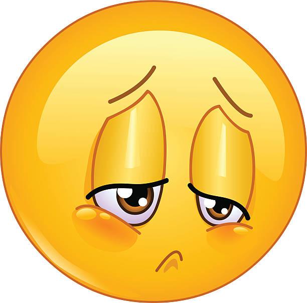 ilustrações de stock, clip art, desenhos animados e ícones de tristeza de ícones emotivos - deceção