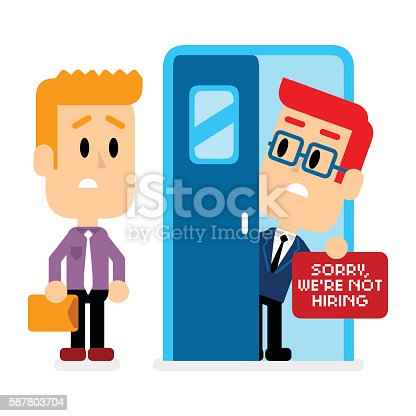 istock Sorry, We're Not Hiring 587803704