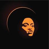 soul lady orange