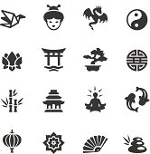 Soulico collection - Asian Culture icons.