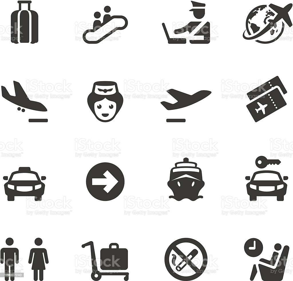 Soulico - Business Travel vector art illustration