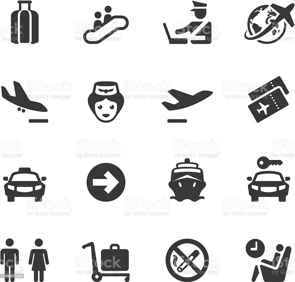 Soulico - Business Travel vector art illustration